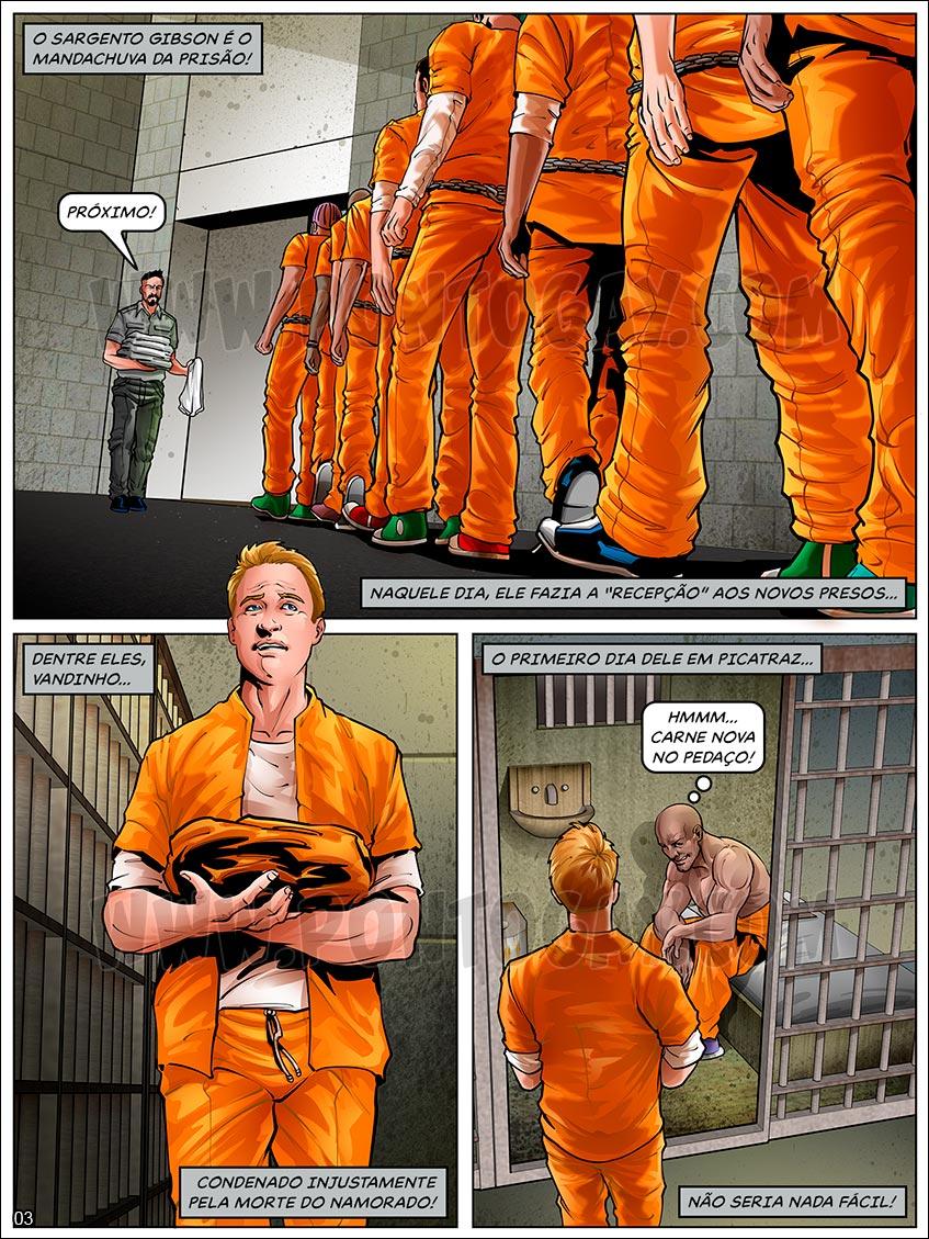 Atrás das Grades - Primeiro dia na prisão