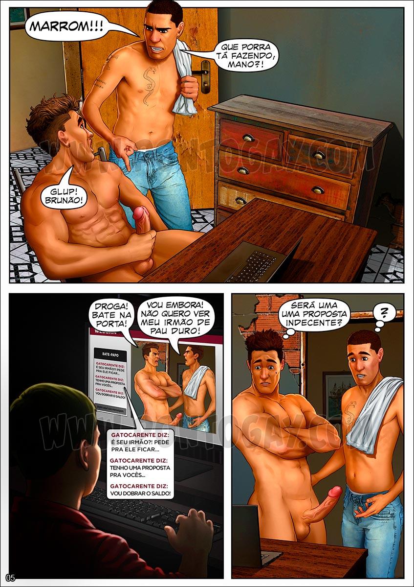 Irmãos Cafuçus - Show proibido na webcam
