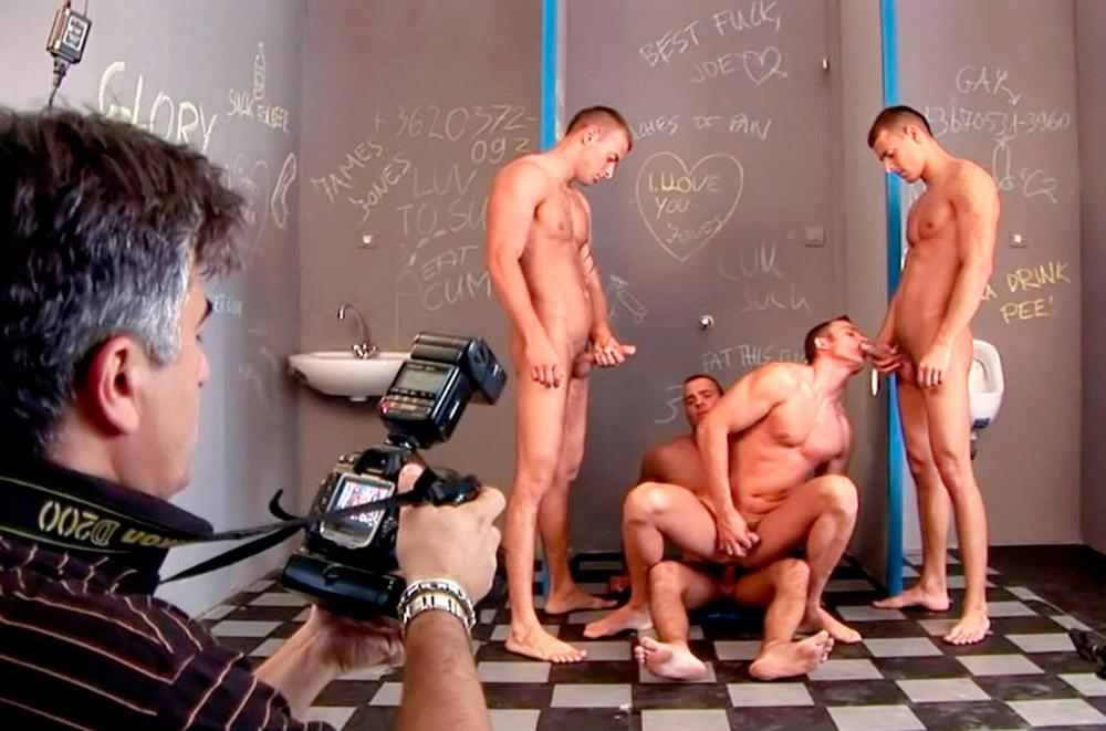 Bastidores secretos do mundo pornô gay
