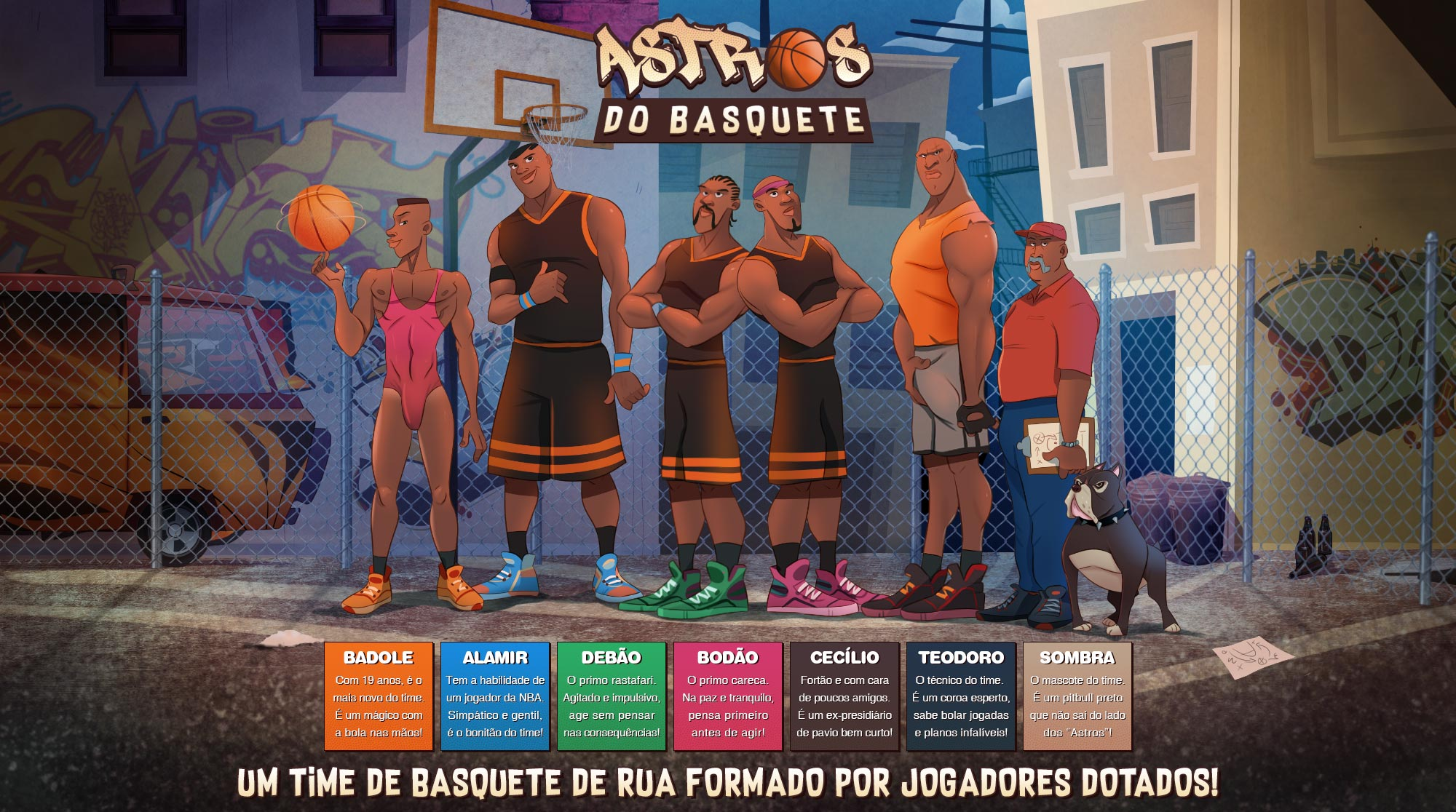 Astros do Basquete - header