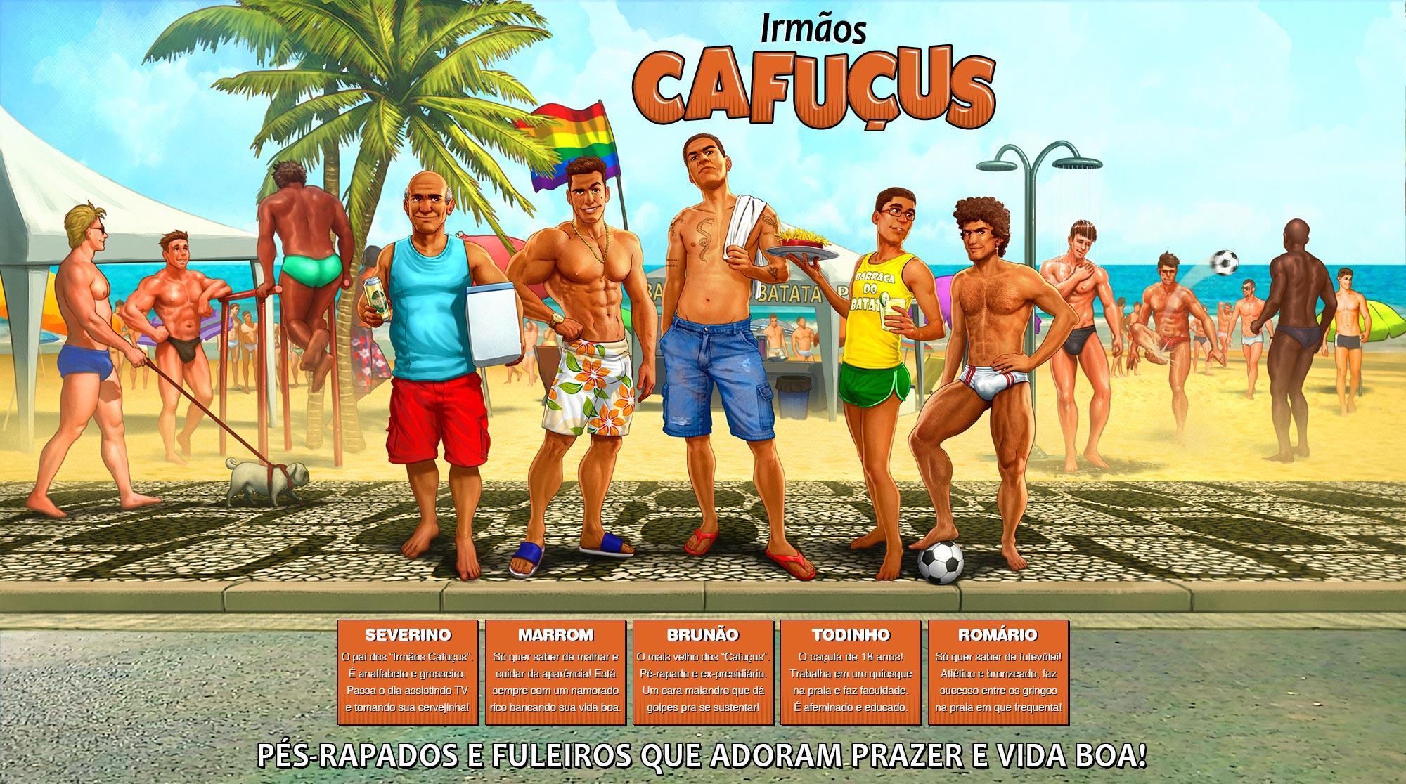 Irmãos Cafuçus - header