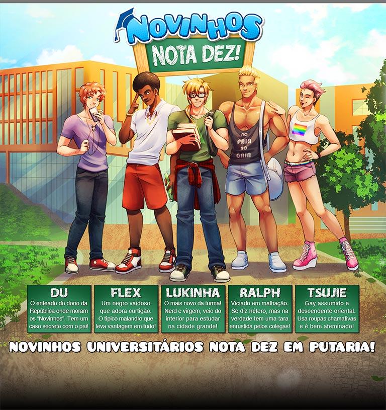 Novinhos Nota Dez! - header