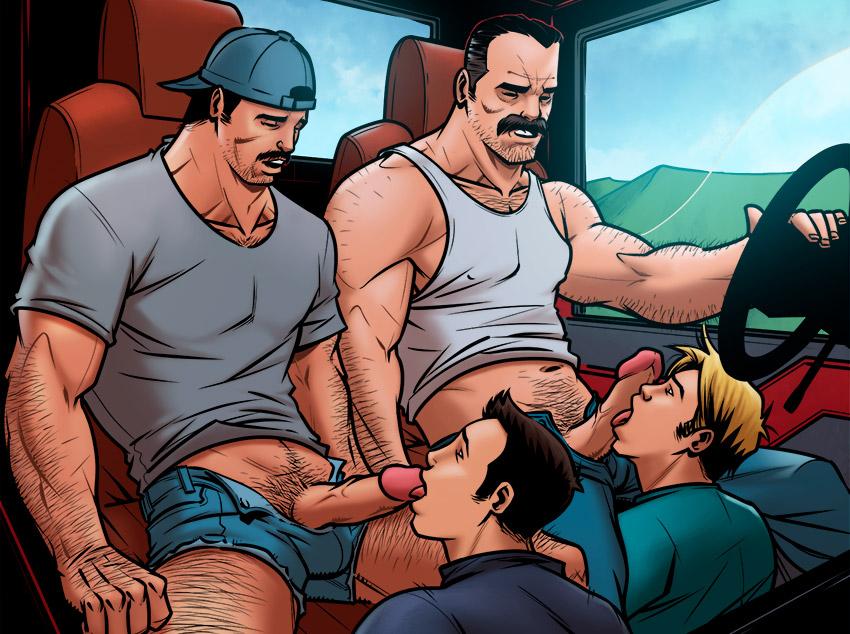 Na boleia do caminhoneiro ogro
