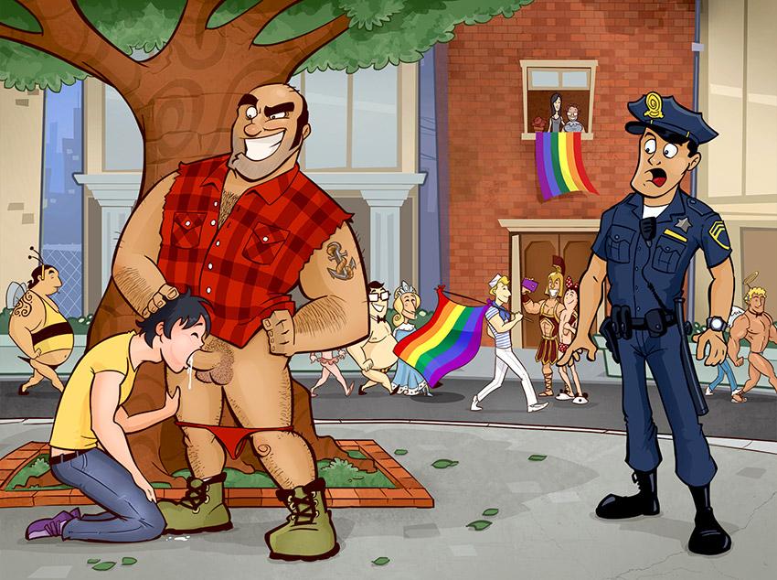 Minha primeira vez na Parada Gay