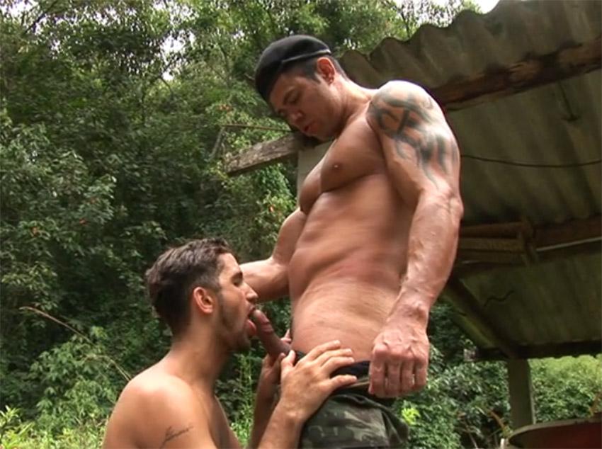 O exército brasileiro no sexo