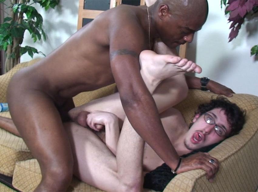 Negro dotado interracial