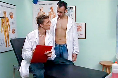 Putaria gay no consultório