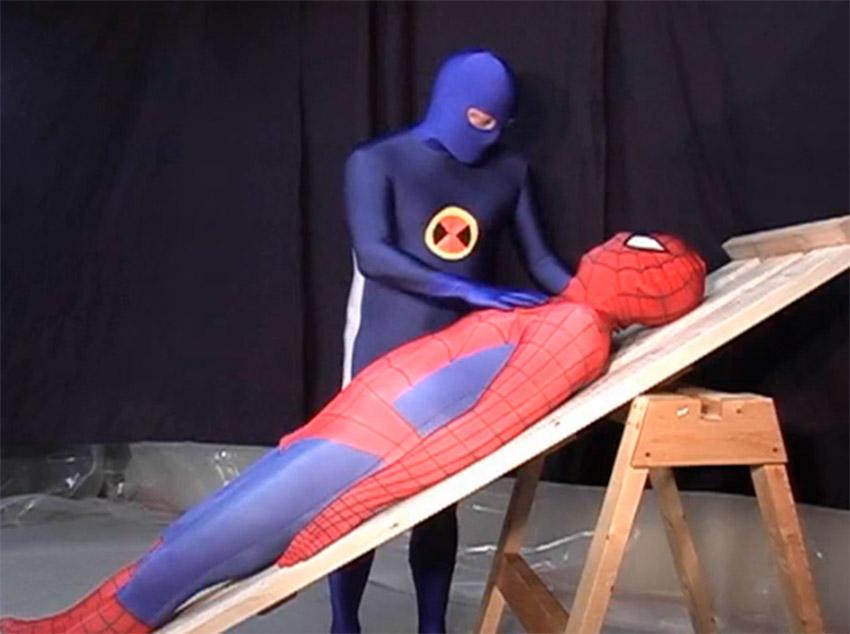 Super-heróis no sexo