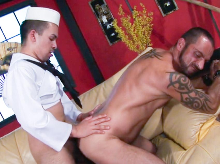 Marinheiro no sexo gay
